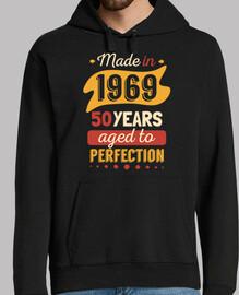 fabriqué en 1969 50 ans vieilli à la pe