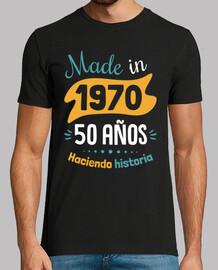 fabriqué en 1970 50 ans histoire