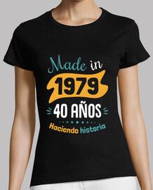 fabriqué en 1979 40 ans histoire