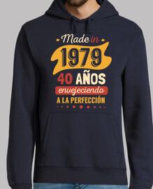 Fabriqué en 1979 40 ans vieillissement