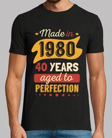 fabriqué en 1980 40 ans à la perfection