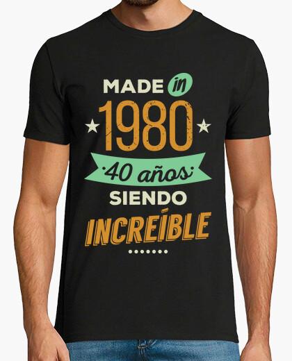 Tee-shirt fabriqué en 1980 40 ans d39exception