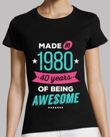 fabriqué en 1980 40 ans de génie