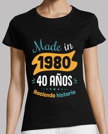 fabriqué en 1980 40 ans histoire