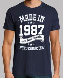 fabriqué en 1987