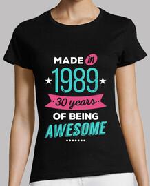 fabriqué en 1989 30 ans d39être génial
