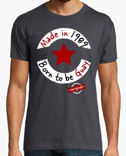 Tee-shirt fabriqué en 1989 né pour être cool
