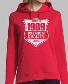 fabriqué en 1989 qualité premium