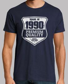 fabriqué en 1990, qualité premium, millésime original