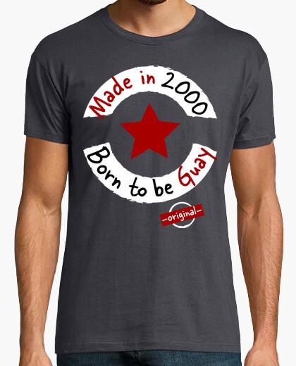 Tee-shirt fabriqué en 2000 né pour être cool