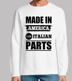 fabriqué en américain avec des pièces i