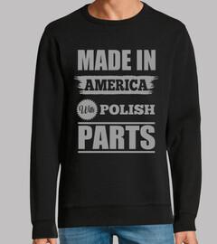fabriqué en américain avec des pièces p