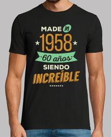 fabriqué en 1958