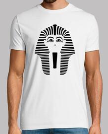 faccia di testa del faraone
