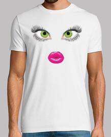 face / eyes / lips