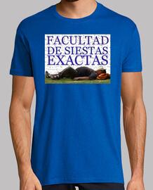 FACULTAD DE SIESTAS EXACTAS
