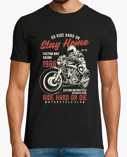 T-Shirt fahr hart oder stirb