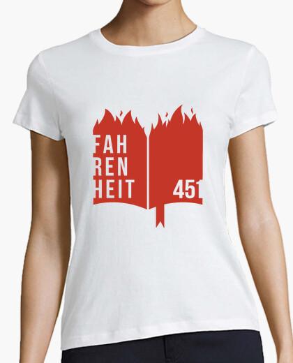 Camiseta Fahrenheit 451