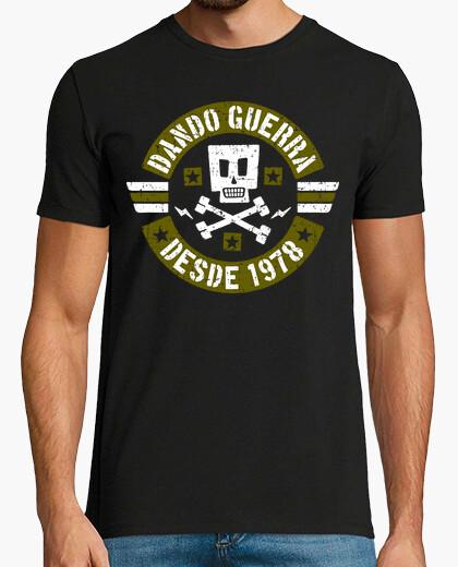 Tee-shirt faire la guerre depuis 1978