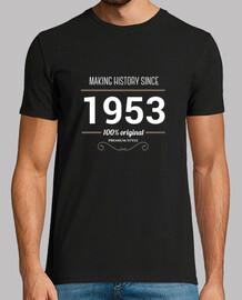 faire l'histoire depuis 1953 blanc