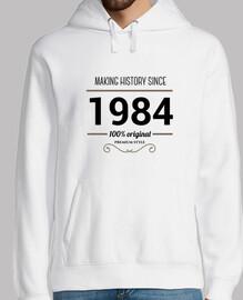 faire l'histoire du texte noir 1984
