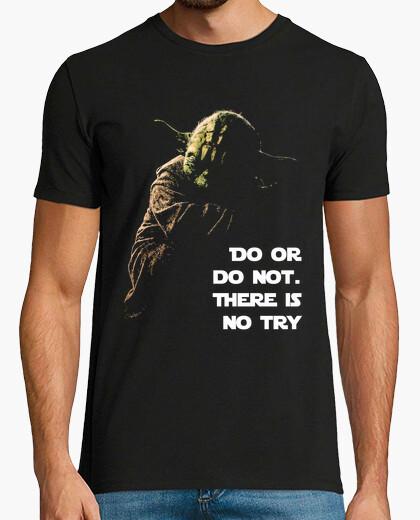 Tee-shirt faire ou faire not - yoda