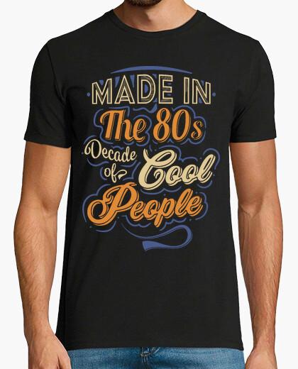 Tee-shirt fait dans les années 80 fraîches people
