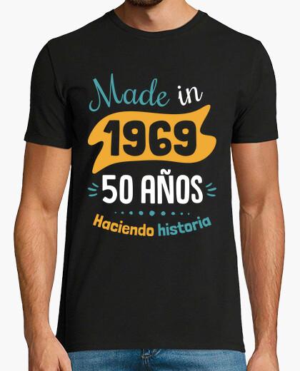 Tee-shirt fait en 1969 50 ans histoire