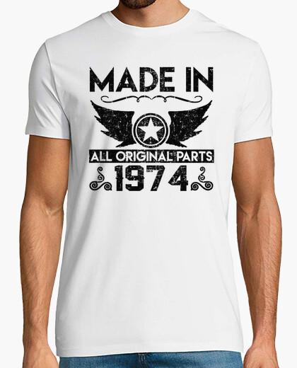 Tee-shirt fait en 1974 toutes les pièces originales