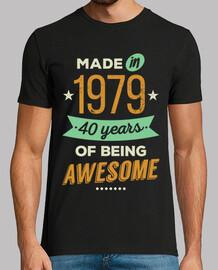 fait en 1979 40 ans d39être génial