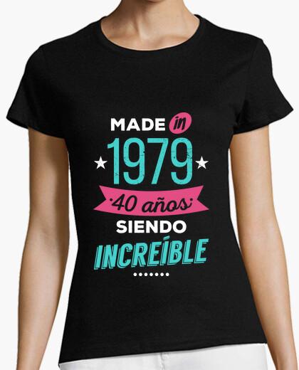 Tee-shirt fait en 1979 40 ans étant incroyable