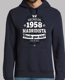 faite en 1958 de Madrid depuis que je s