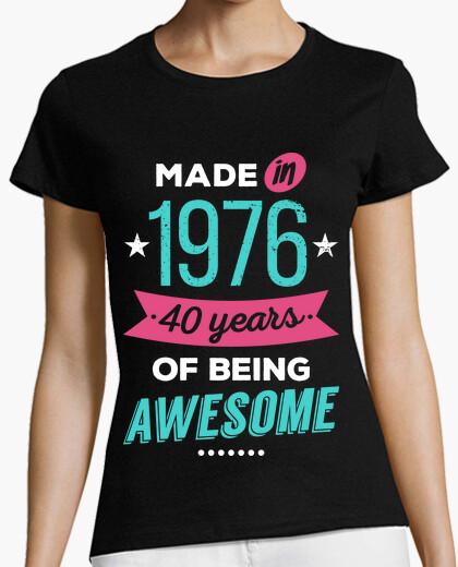 Tee-shirt faite en 1976