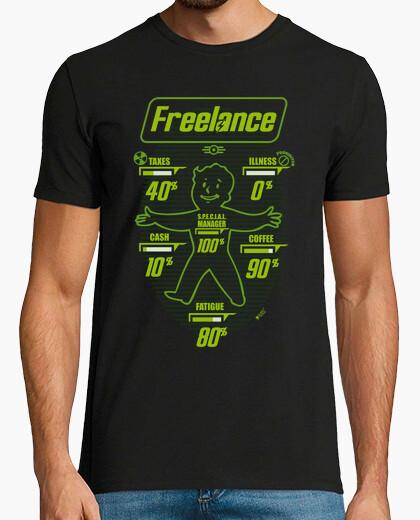 Tee-shirt fallout freelance