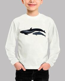 Falsa orca camiseta niño
