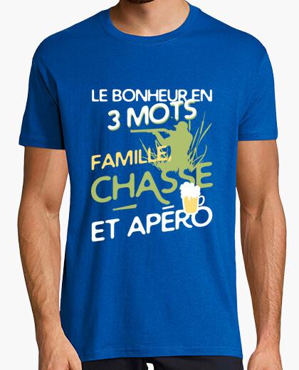 Camiseta familia - caza - aperitivo