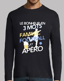 familia - fútbol - aperitivo