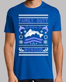 famille, le devoir, l' honneur ugly pull - over