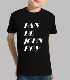 fan de john boy 2 enfants blancs