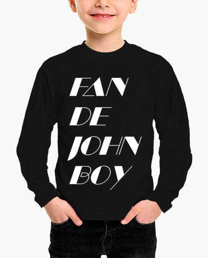 Ropa infantil Fan de John Boy 2 White Kids