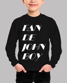 Fan de John Boy 2 White Kids