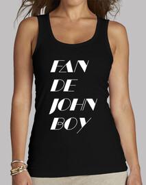 Fan de John Boy 2 White Women Sleeveless