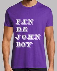 fan di john boy men bianco