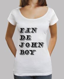 fan di john boy women fit loose