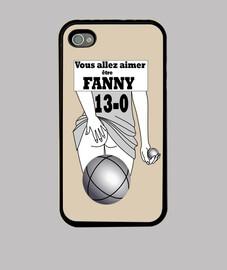 fanny iphone 4 case, black