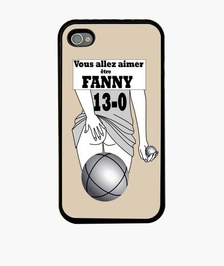 Funda iPhone fanny iphone 4 negro