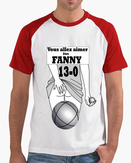 Tee-shirt Fanny pétanque H FB