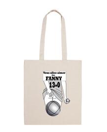 Fanny Sac à bandoulière 100 coton