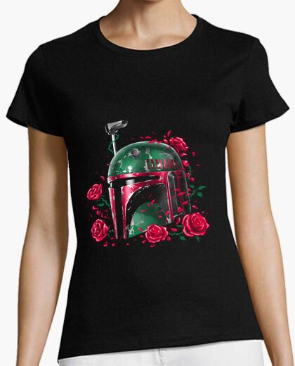 Camiseta fantasma de la camisa para mujer del imperio fett