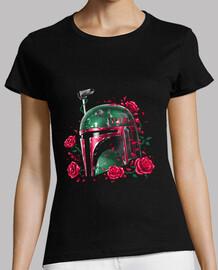 fantasma de la camisa para mujer del imperio fett
